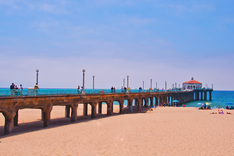 Manhattan Beach Pier Long View