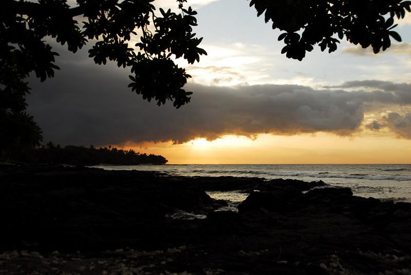 Punaho Sunset I - Kona, Hawaii 2008