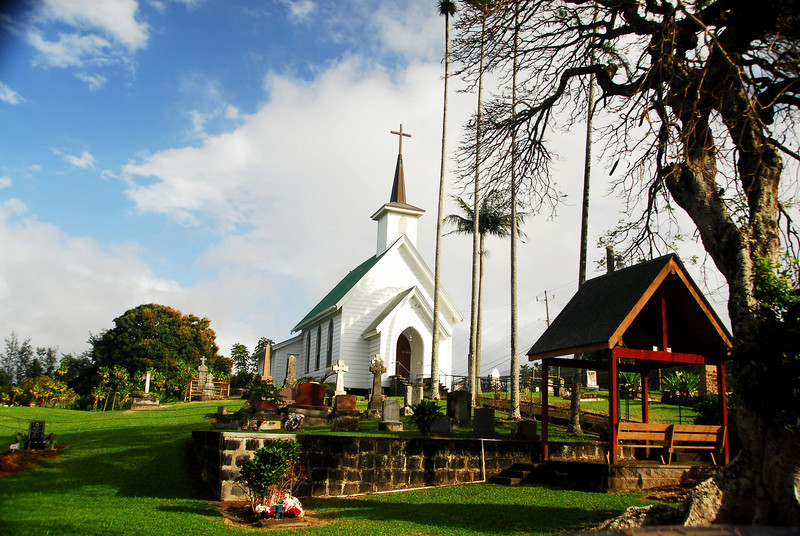 Village Church - The Big Island, Hawaii 2008