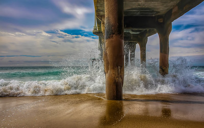 Winter at the Pier