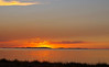 Sunset at the Great Salt Lake.