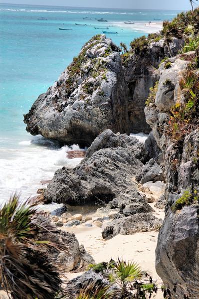 Beach at Tulum, Mexico