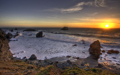 Goat Rock Sunset