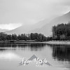 159  G Gorge Reflections BW