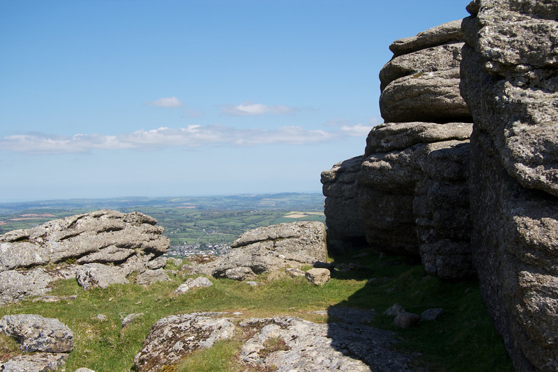 Beacon Rocks - Dartmoor near South Brent