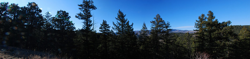 panorama from Evergreen parkway