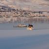 Okanagan / Vernon - Boats in the winter mist.
