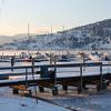 Okanagan / Vernon - Winter at the yacht club.