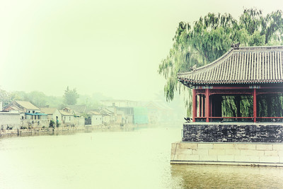 Outside the Forbidden City (China)