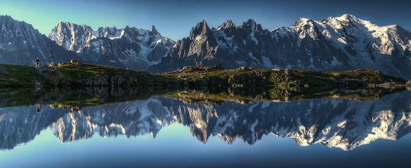 Le Lac Blanc (the white lake) by Thierry