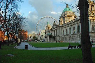 Belfast City Hall - Oct 2008.
