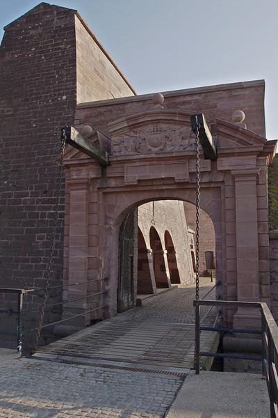 Door Brisach - Belfort Citadel