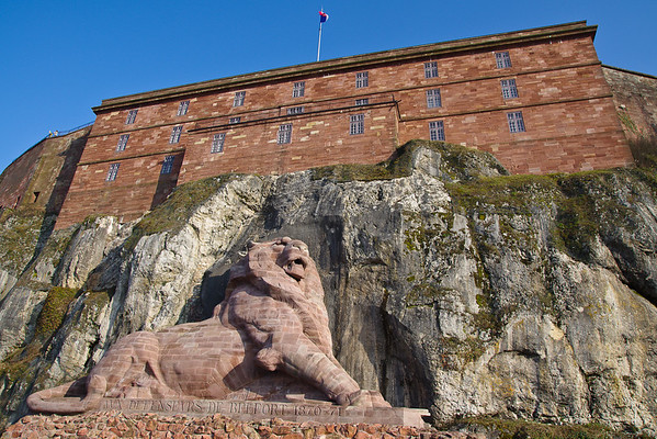 The Lion of Belfort - Belfort Citadel