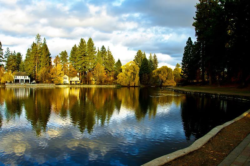 Mirror Pond - Bend Oregon