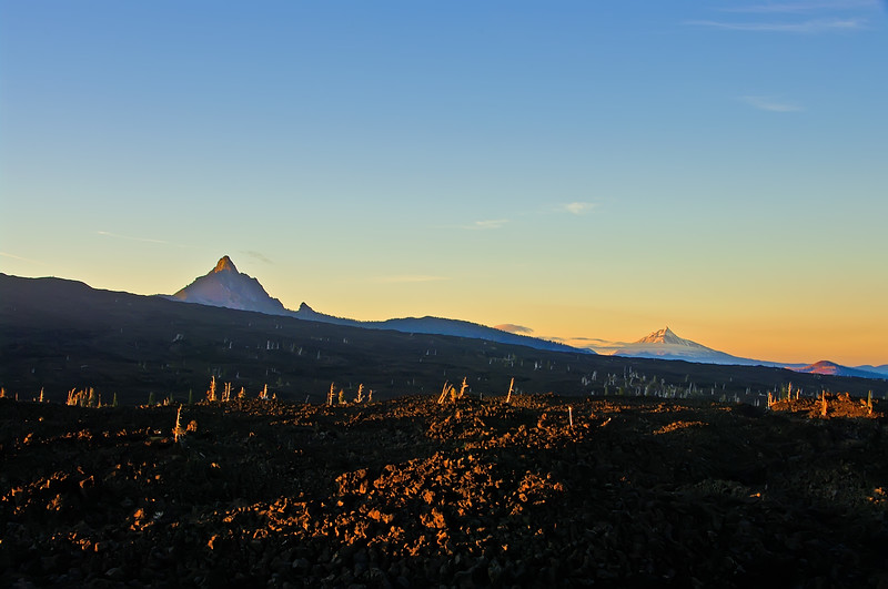 Mts Washington, Jefferson - Lava fields - Cascades