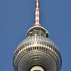 "The famous Fernsehturm (nicknamed ""The Pope's Revenge"")"