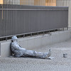 """If you're going to be a """"living statue"""" then make yourself comfortable!"""