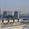 Over-looking the Hauptbahnhof.