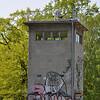 Disused Border Tower in Kreuzberg.