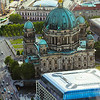 View of the Berliner Dom from the Fernsehturm