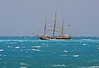 Sailboat on North Shore 04-26-08