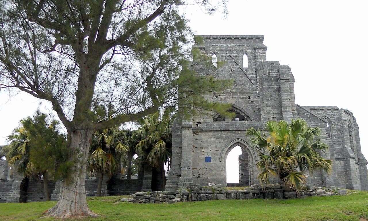 The Unfinished Church, St. George
