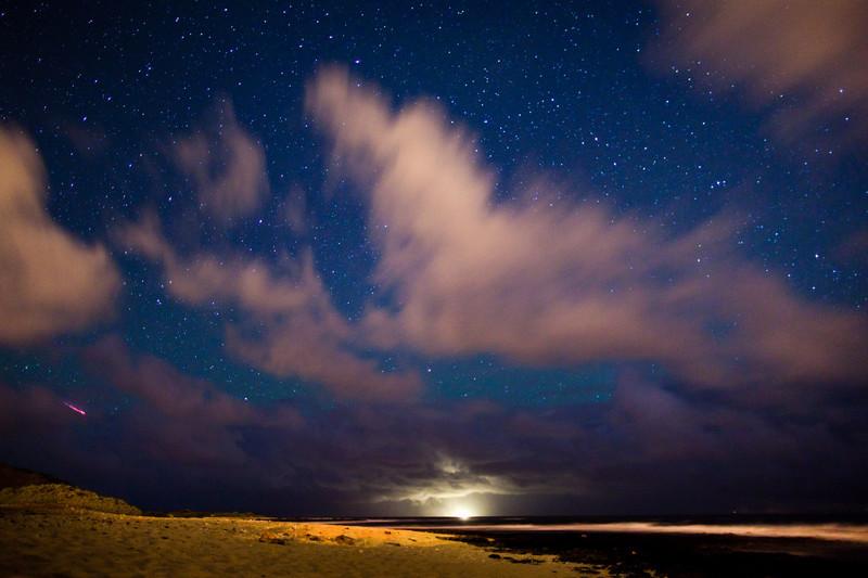 Sandy Beach Meteor Shower