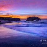 """Daybreak at Natural Bridges""  Natural Bridges State Park, Santa Cruz, California"