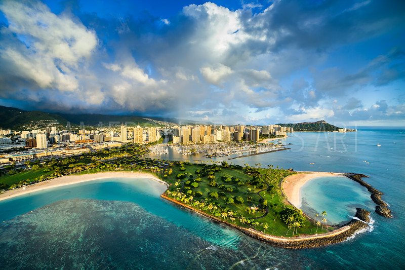 Ala Moana Beach / Magic Island