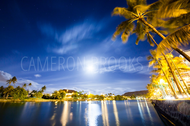 Ala Wai Moonlight