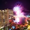 Ilikai Suite Fireworks View