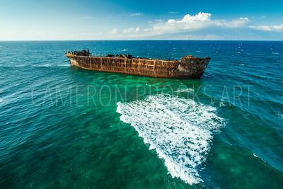 Lanai Ghost Ship