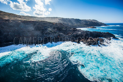 Swirling Waves of Molokai