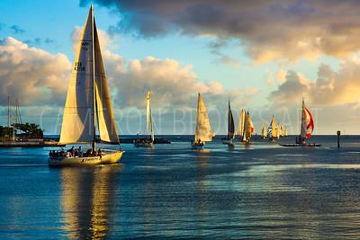 Friday Sailing Lineup