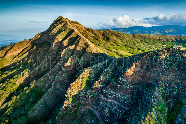 Diamond Head Ridgeline