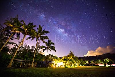 Mokule'ia Milky Way