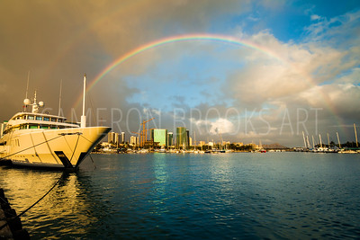 Kewalo Harbor Rainbows