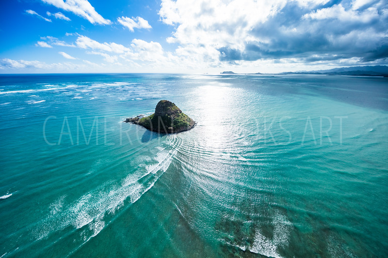 Chinaman's Hat Waves