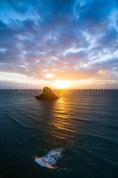 Chinaman's Hat Sunrise