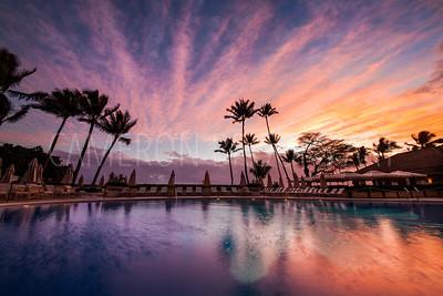 Halekulani Sunset