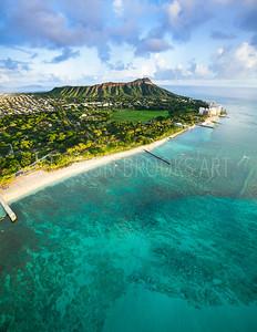 Diamond Head / Waikiki Beach