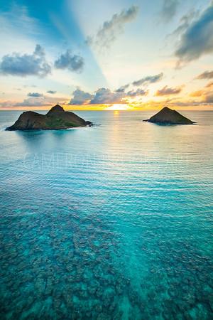 Lanikai Reef Sunrise