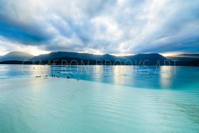 Kaneohe Sandbar Sunset