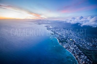 5,000 ft. above Waikiki