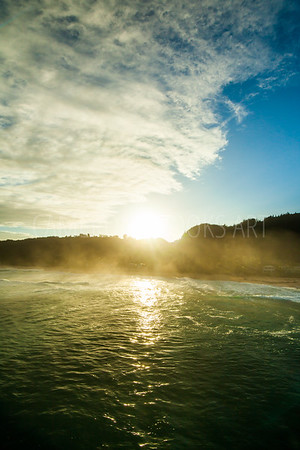 North Shore Misty Sunrise