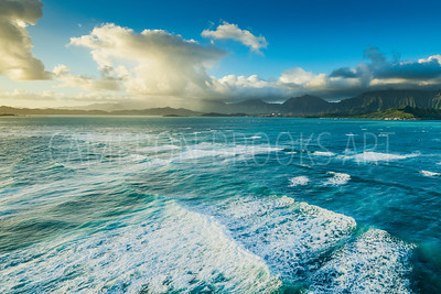 Raincloud over Kaneohe