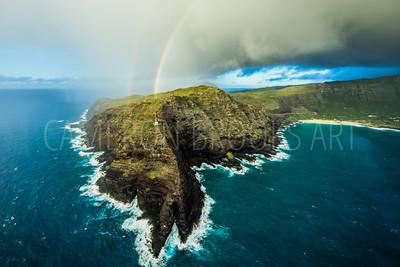 Makapu'u Lighthouse Rainbows