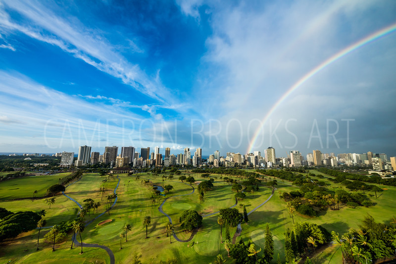 Ala Wai Golf Course Rainbows