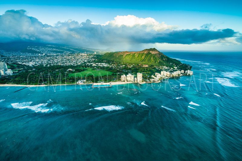 Diamond Head Raincloud