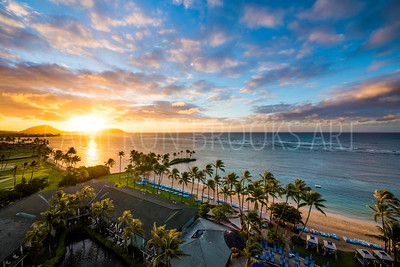 Kahala Resort Sunrise